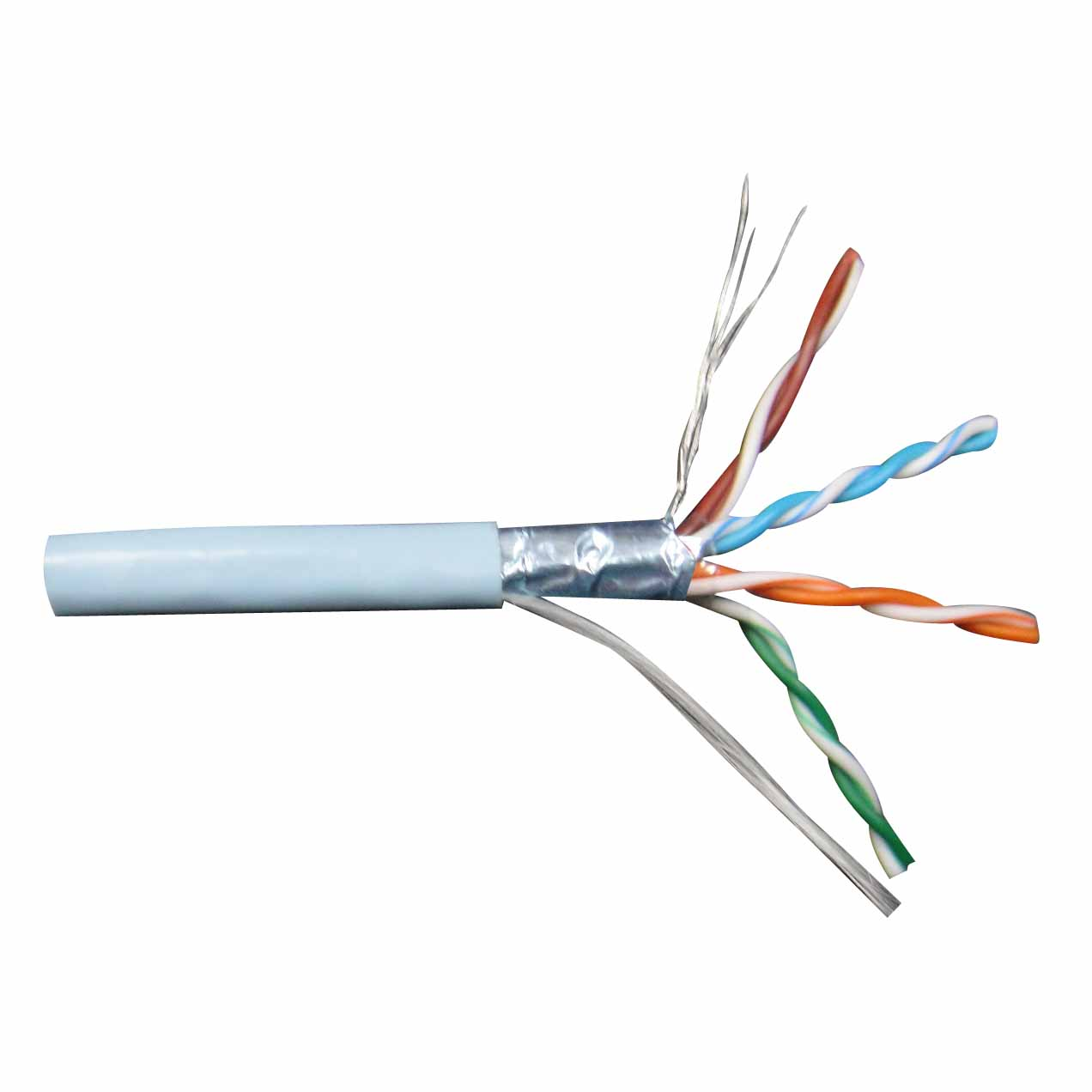 LAN Cable FTP Cat.5e Solid 24AWG 305M/Box