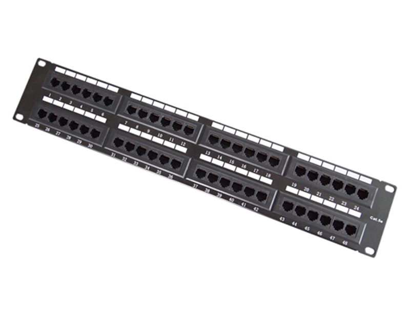 UTP Cat.5e Patch Panel 48Port 110IDC
